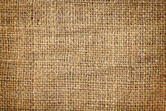 Background of burlap hessian sacking Stock Photography