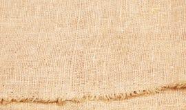 Background of burlap hessian sacking. Textile background Royalty Free Stock Image