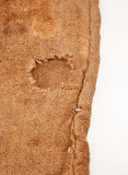 Background of burlap hessian sacking Royalty Free Stock Photography
