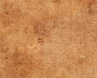 Background of burlap hessian sacking Royalty Free Stock Images