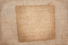 Background of burlap Royalty Free Stock Photo