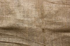 Background of burlap for packaging Stock Photography