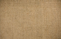 Background of burlap sacking stock photography