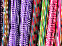 Background of Burmese silk 1 Royalty Free Stock Photography