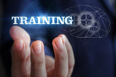Background for business training. Stock Image