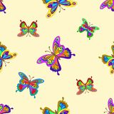 Background, butterflies Royalty Free Stock Photos