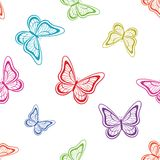 Background, butterflies Royalty Free Stock Image