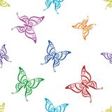 Background, butterflies Stock Photography