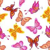 Background, butterflies Stock Photos