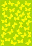 Background with butterflies. Stock Image