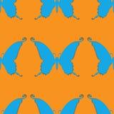 Background of butterflies. Seamless pattern. Vector illustration Stock Photo