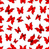 Background, butterflies Stock Images