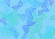 Background with butterfly Stock Photo