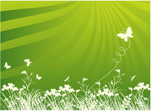 Background with butterfly Royalty Free Stock Images