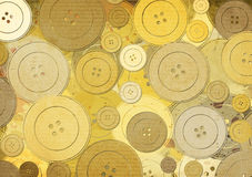 Background with buttons Stock Image