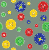Background with buttons. Vector color background with buttons stock illustration