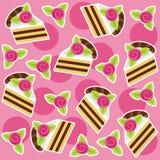 Background cakes Stock Image