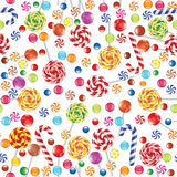 Background with candies Royalty Free Stock Photography
