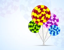 Background with candies Royalty Free Stock Photo