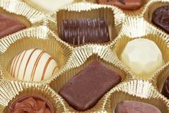 background candies chocolate Стоковая Фотография RF