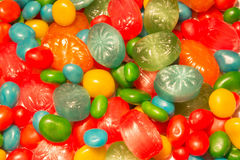 Background of Candies Royalty Free Stock Photo