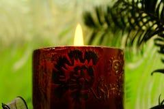 background candle christmas decoration gift golden xmas Στοκ Εικόνες