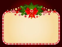 Background with Candy cane. Stock Photo