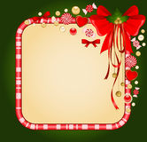 Background with Candy cane. Stock Photos