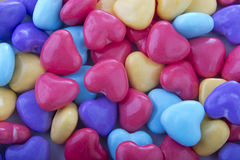 Background candy hearts Royalty Free Stock Photo