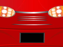 Background from a car part, light of headlights Stock Images