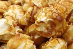 Background of caramel popcorn Royalty Free Stock Image