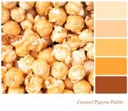 Caramel Popcorn Palette Royalty Free Stock Image