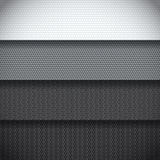 Background of carbon fiber patterns Stock Photo