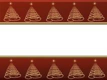 background card christmas Στοκ Φωτογραφίες