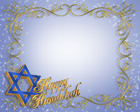 background card hanukkah