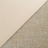 Background cardboard and burlap Stock Photography