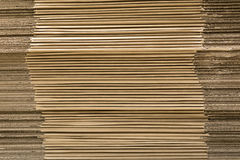 Background of cardboard sheets Royalty Free Stock Photos
