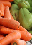 Background carrot. Shallow depth of field Royalty Free Stock Photos