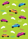 Background with cars Royalty Free Stock Images