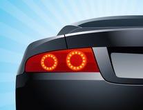 background cars lights reversing sky ελεύθερη απεικόνιση δικαιώματος