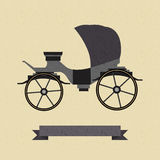 Background with a cart. Vector background with a cart Royalty Free Stock Photography