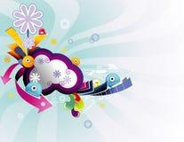 Background cartoon illustration vector illustration