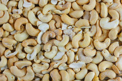 Background of cashew nuts Royalty Free Stock Photos