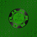 Background with casino chips Royalty Free Stock Photography