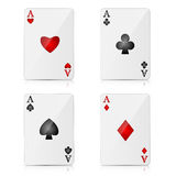 background with casino elements Stock Images