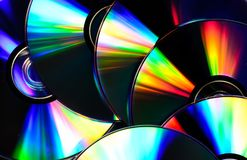 Background of the cd disks royalty free stock image