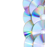 Background with CDs Royalty Free Stock Photography