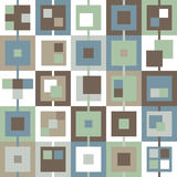 Background in the cell blue green brown white gray Royalty Free Stock Photo