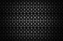 Background with cell metal. Background with cell black metal texture Stock Photography
