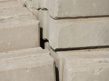 Background of a cement brick Stock Photography